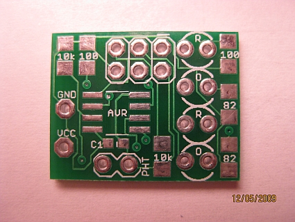ATTINY13A Fake Fire LED