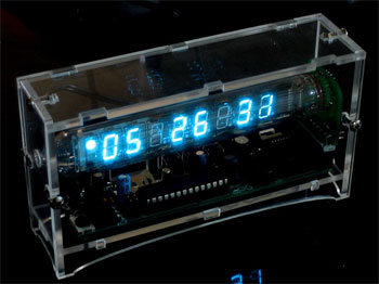 Ice Tube Clock from Adafruit Industries