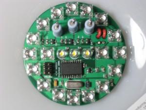 Lampan RGB LED PCB
